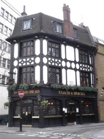 Photo of Bar Coach and Horses at 5 Bruton Street, London W1J 6PT, United Kingdom