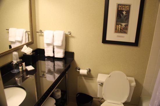 Functional bathroom fotograf a de sheraton miami airport hotel executive meeting center - Five modern gadgets for a functional bathroom ...