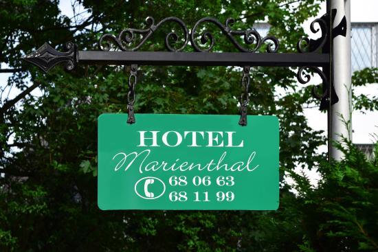 Hotel Marienthal Hamburg: Exterior