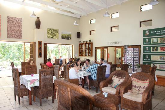 Sabie Valley Coffee Farm: Ein Innenraum