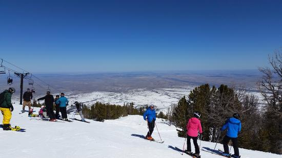 Red Lodge Mountain: Top of Grizzly Peak and Grizzly Peak lift