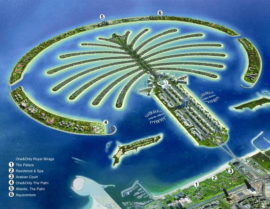One&Only The Palm Dubai: Palm Island