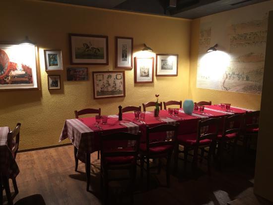 Don Ciccio Ristorante-Pizzeria : Wir sind also hell begeistert! Sehr freundlich, gutes essen und erst noch mit kinder spieleck! W