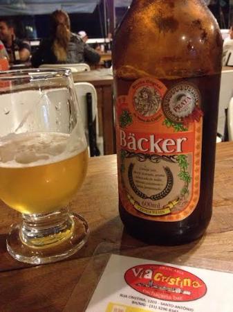 Via Cristina: Cerveja gelada