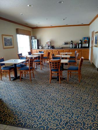 Napoleon, Οχάιο: Breakfast area