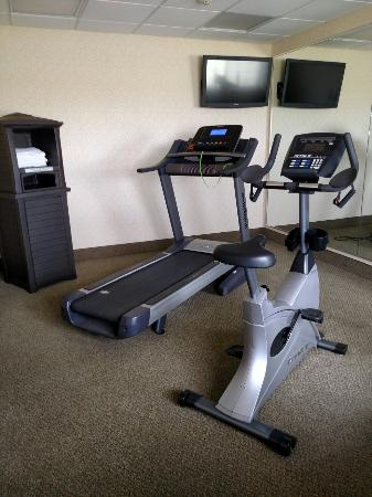 Napoleon Inn & Suites: Part of exercise roo.