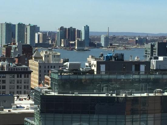 Sheraton Tribeca New York Hotel: view from concierge floor