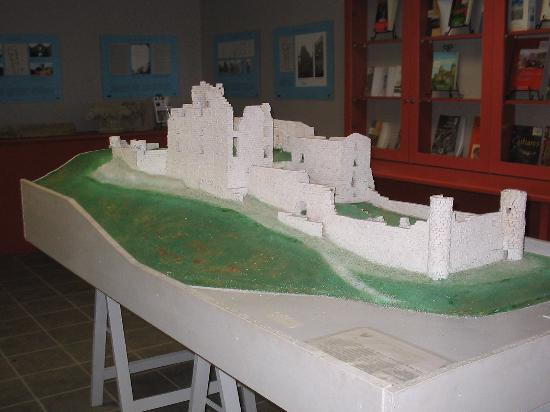 Saissac, ฝรั่งเศส: Maqueta del Castillo