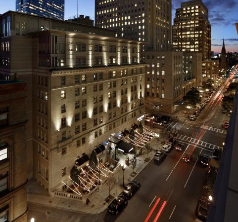 Loews Boston Hotel: Aerial Exterior