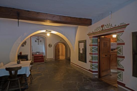 Campodazzo, Italien: L'ingresso a piano terra.