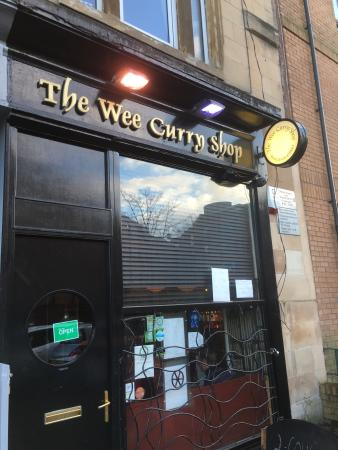 Photo0jpg Picture Of Wee Curry Shop Glasgow Tripadvisor
