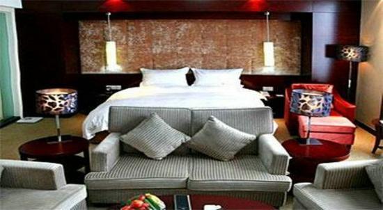 Ankang, Cina: River View King Room