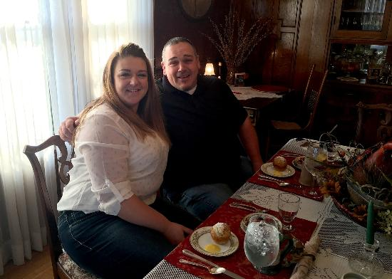 Hartford, WI: Breakfast in the Westphal Mansion Dining Room
