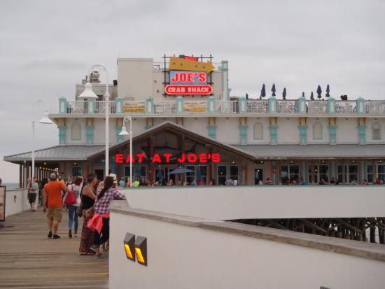 Daytona Beach Boardwalk And Pier Joe S Crab Shack