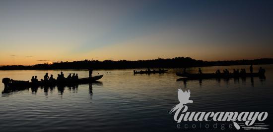 Guacamayo Ecolodge: Laguna Grande