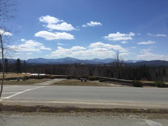 Whitefield, NH: View from the hotel porch