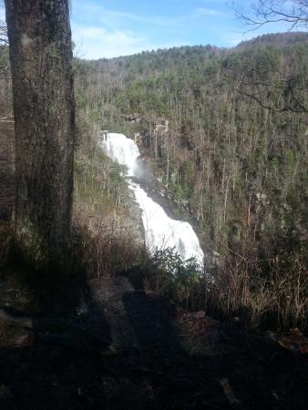 Sunrise Farm Bed and Breakfast: Georgeous hiking trails and waterfalls to enjoy.