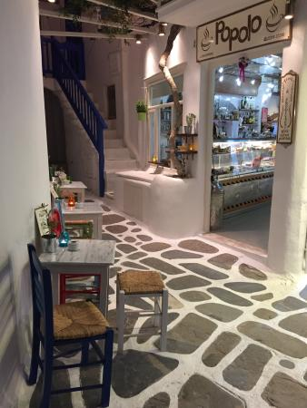 Popolo, Mykonos Town - Updated 2019 Restaurant Reviews, Menu & Prices - TripAdvisor