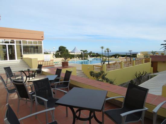 Hotel Baia Cristal: Terrace