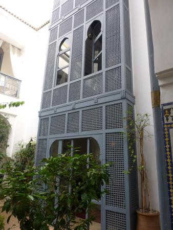 Riad Adore: Gorgeous courtyard