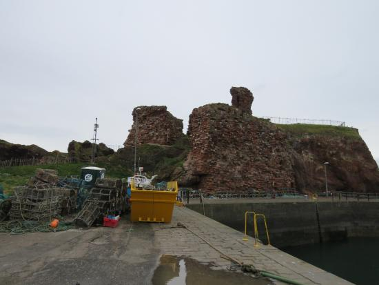Dunbar, UK: this was one of the most formidable castles of its time