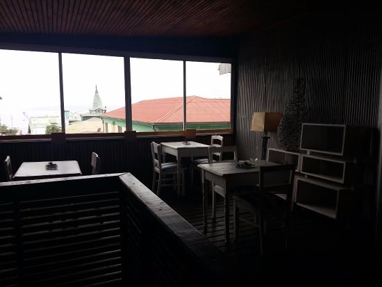 Terraza Picture Of Hotel Montealegre De Valparaiso