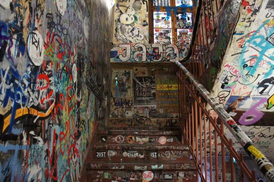 Stairwell To Gallery Picture Of Haus Schwarzenberg Berlin