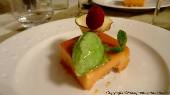 Asnelles, Francja: dessert