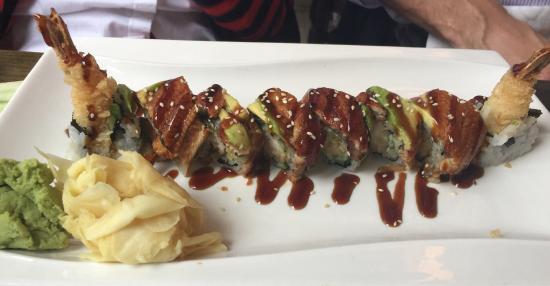 Great place to enjoy sushi & sashimi