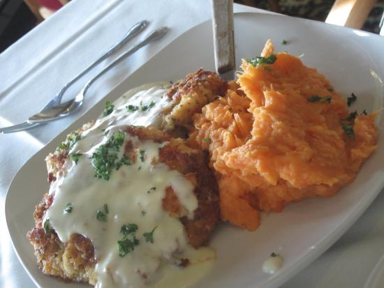 East Dubuque, IL : Sweet potatoes were magnificent!