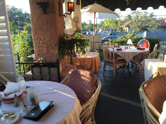 pleasant outdoor seating excellent foodand great service picture rh tripadvisor com