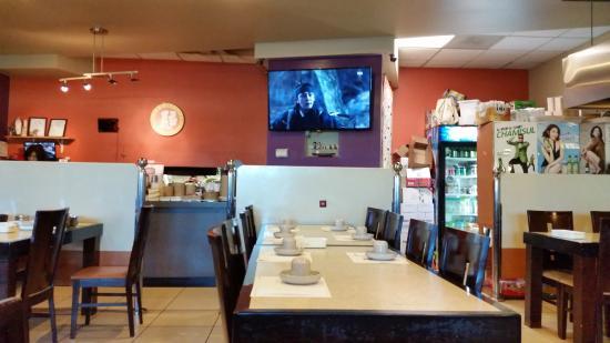Shoreline, Ουάσιγκτον: Dining area, good for large groups