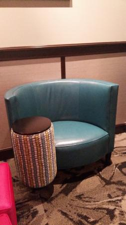 Schenectady, NY: another funky chair in the coffee area!