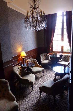 Lovely saloon bar at Hotel De Tuilerieen