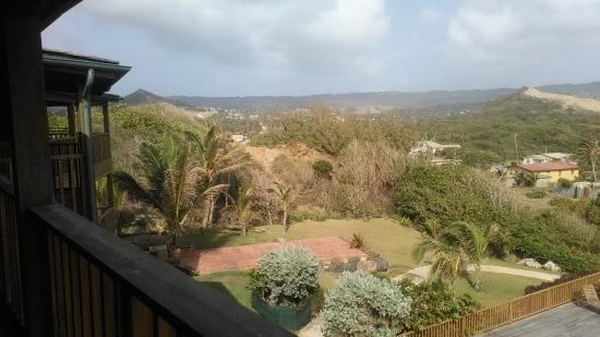 Saint Andrew Parish, Barbados: Morning view from balcony - east coast (Room 301)