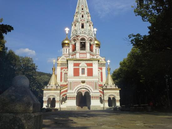 Shipka, Bulgaria: Monument to the dead in the Russo Ottoman war of 1877/1878