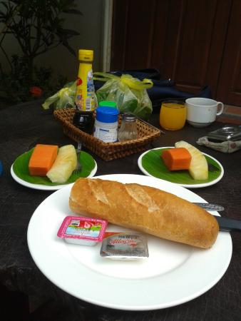 Lao Lu Lodge: อาหารเช้า
