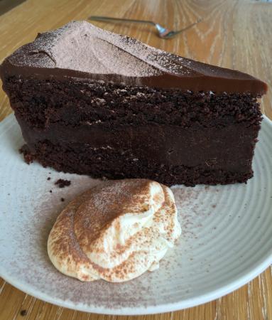 Trigg, Australien: Gluten free chocolate cake.