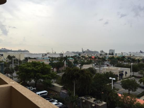 view of the port from our balcony picture of embassy suites by rh tripadvisor com