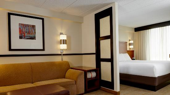 Hyatt Place Indianapolis Airport: King Guestroom
