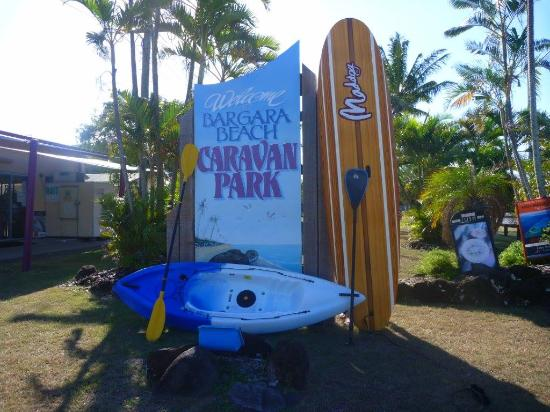 Bargara Beach Caravan Park: New Kayaks and Paddleboards