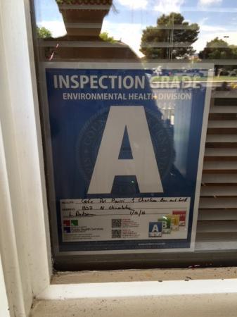 Ridgecrest, CA: The health department likes them :)