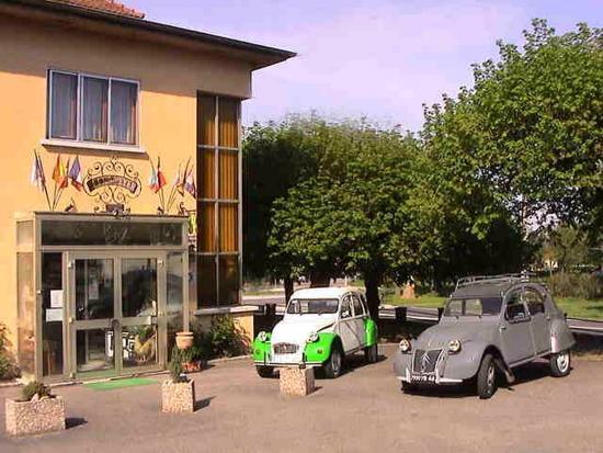 Haut-Rhin, ฝรั่งเศส: Coté cour ....