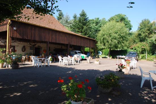 Haut-Rhin, France: Terrasse