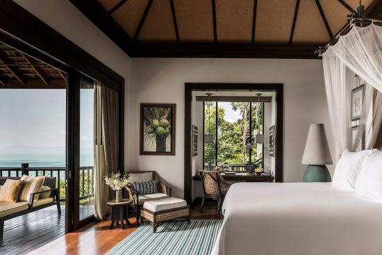 Four Seasons Resort Koh Samui Thailand: Bedroom