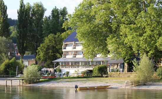 Residenz Seeterrasse: Der Blick vom See