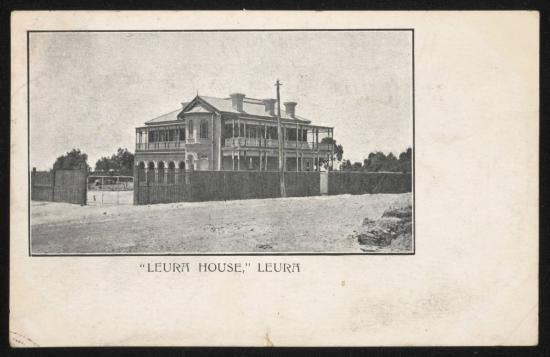 Leura House: Original House