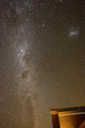 Anakiwa, Nueva Zelanda: The Milky Way from the deck