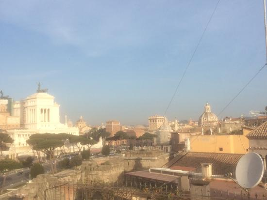 Made in Rome Bed&Breakfast: View form the terrace