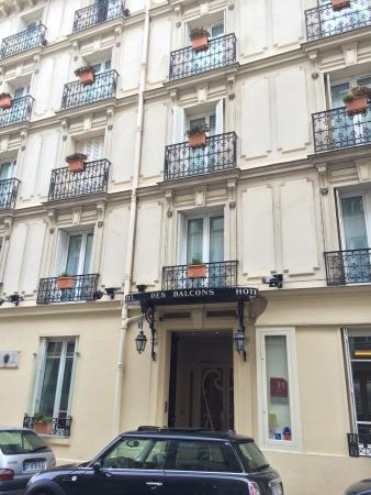Grand Hotel des Balcons: Great 3-star hotel in a great location